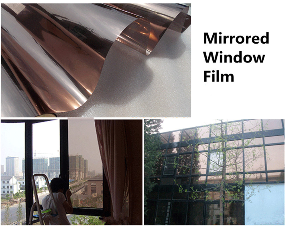 Uncut Roll Window Tint Film One Way Mirror Privacy Reflection Home Commercial