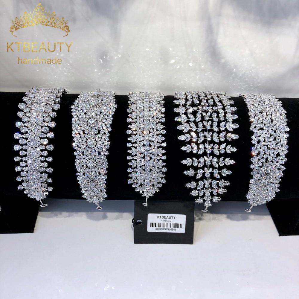 Nuevo Diamante de imitación de Zirconia 13 diseños de Tiara grande de plata de moda diadema nupcial Real Corona accesorio de la Corona joyería de las mujeres-in Joyería para el cabello from Joyería y accesorios on Aliexpress.com | Alibaba Group