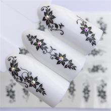 WUF 1 шт. Hitoro наклейки для ногтей цветы переводные наклейки для воды украшения Dream Cather слайдер для Типсы для ногтей «сделай сам»