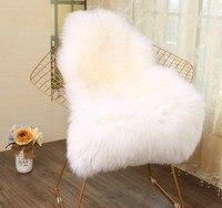 60X102CM Irregular Faux Fur Rug Modern Plush Carpet Home Entrance/Hallway Doormat Living Room Chair Cushion Kids Room Area Rug