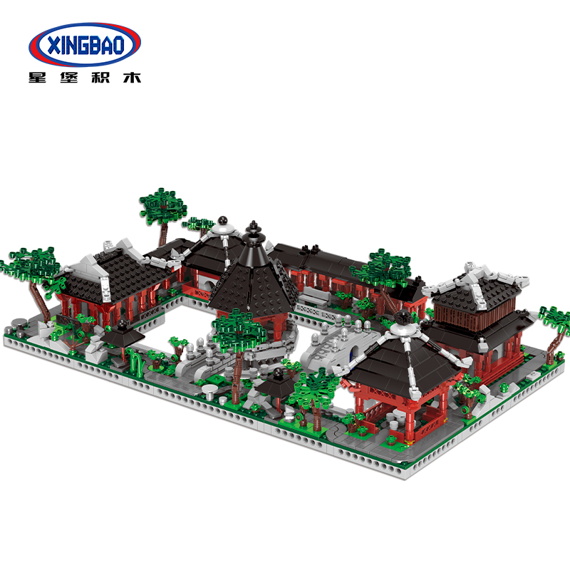 Xingbao 01110 Suzhou Traditional Garden Building Blocks Chinese Architecture Bricks for Kids ad Adult Toy Compatible with legoinXingbao 01110 Suzhou Traditional Garden Building Blocks Chinese Architecture Bricks for Kids ad Adult Toy Compatible with legoin