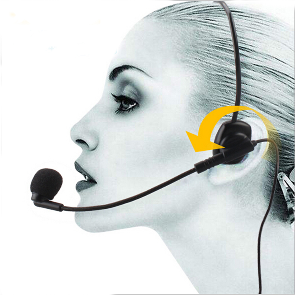 Cable Head-mounted Headset Microphone