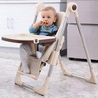 Складная Многофункциональный Детский, обеденный стол детский стул Портативный детское сиденье