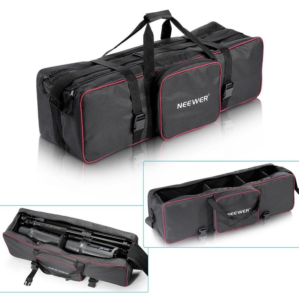 купить Neewer 30inchx10inchx10inch/77cmx25cmx25cm Photo Video Studio Kit Large Carrying Bag for Tripod Stand/Monopod/ Umbrella по цене 2105.39 рублей