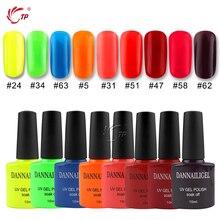 Summer Color Lucky Sale Gel Nail Polish Top/Base Coat Primer For Nail Candy Dannail Long Lasting Shining Nail Art UV Nail Gel