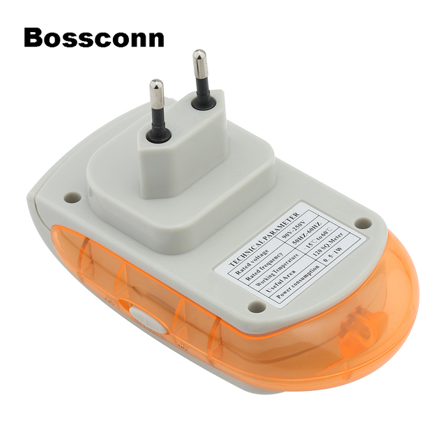 EU UK US PLUG Electronic Pest Repeller Mouse Mosquito Rat Repellent Ultrasonic Rejector Bug Insect Rodent Control UP-0001