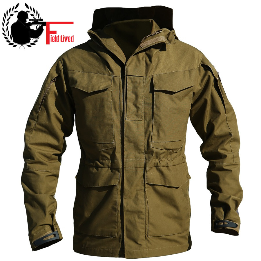 Hiking Jackets Camping & Hiking M65 Uk Us Men Flight Pilot Coat Army Clothes Casual Tactical Hoodieilitary Field Jacket Windbreaker Waterproof Hiking Jacket