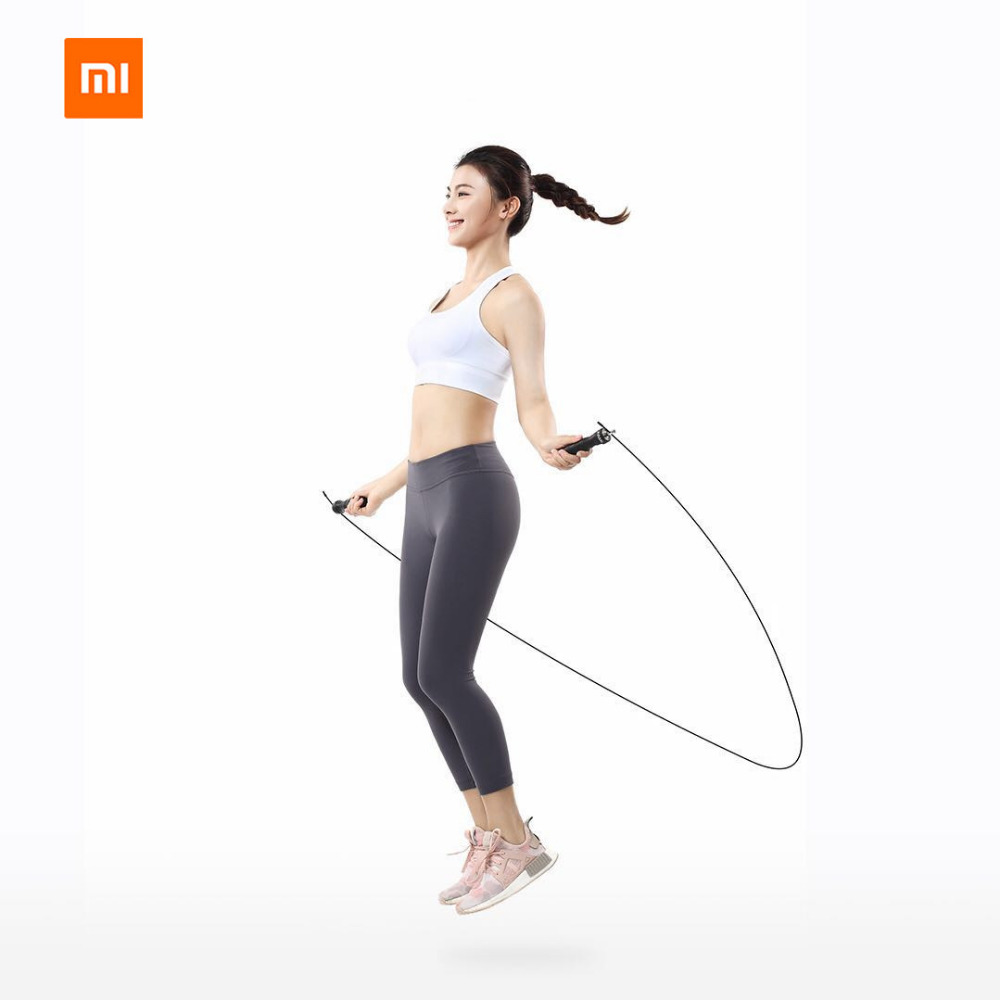 Original Xiaomi Mijia Yunmai Jump Rope One piece Bearing Double Wire Rope Heavy Metal Block For Xiami Mi Smart Home Kits in Smart Remote Control from Consumer Electronics