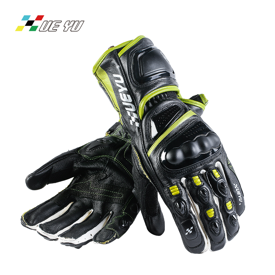XUE YU Cow Leather Microfiber Motorcycle Gloves Breathable Windproof Motocross Motorbike Guantes Luva Guanti Gants Moto MTO-023 motorcycle gloves racing luva motoqueiro guantes moto motocicleta luvas de moto cycling motocross gloves mcs17 gants moto