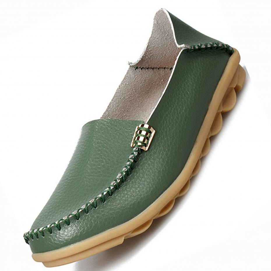 New Summer Candy Colors Genuine Leather Women Casual Shoes Fashion Breathable Slip-on Peas Massage Metal Decoration Flat Shoes top quality for hp laptop mainboard envy 15 679814 001 laptop motherboard 100% tested 60 days warranty