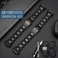 g shock watch strap dw 5600 / DW9600 / DW6900 / gw M5610 16 mmblack men's watch strap is a high quality plastic bracelet