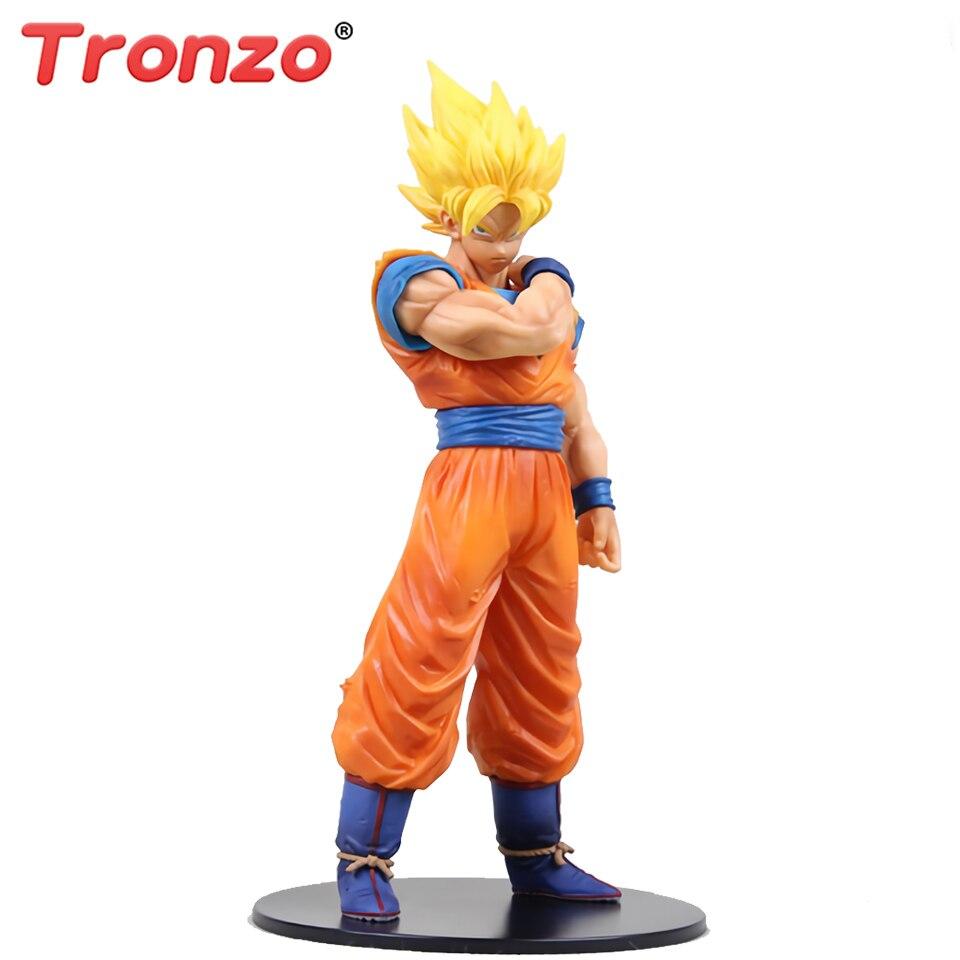 DBZ grandista resolución de soldados son Goku Figura Juguete Ultra instinto Sin Caja
