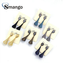 5Pairs,The Rainbow Series,The Special Shape Women Fashion Earring .6Colors, Can Wholesale
