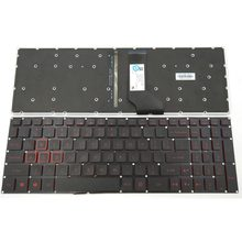 New For Acer Nitro 5 AN515 AN515-51 AN515-51-5594 AN515-51-56U0 Series Laptop Keyboard US Black With Red Backlit Without Frame(China)