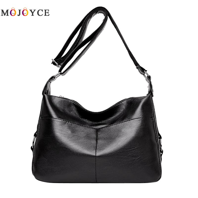 Luxury Brand Large Capacity Women Handbags PU Leather Shoulder Bags bolsos mujer de marca famosa 2018 women pu leather handbags fashion women s top leather pure color shoulder with bag handbag bolsos mujer de marca famosa 2018