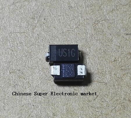Pack of 100 Pieces 1 Amp 600 Volt Electronic Diodes Chanzon US1J SMD Ultra Fast Recovery Rectifier Diode 1A 600V 50-75ns SMA DO-214AC