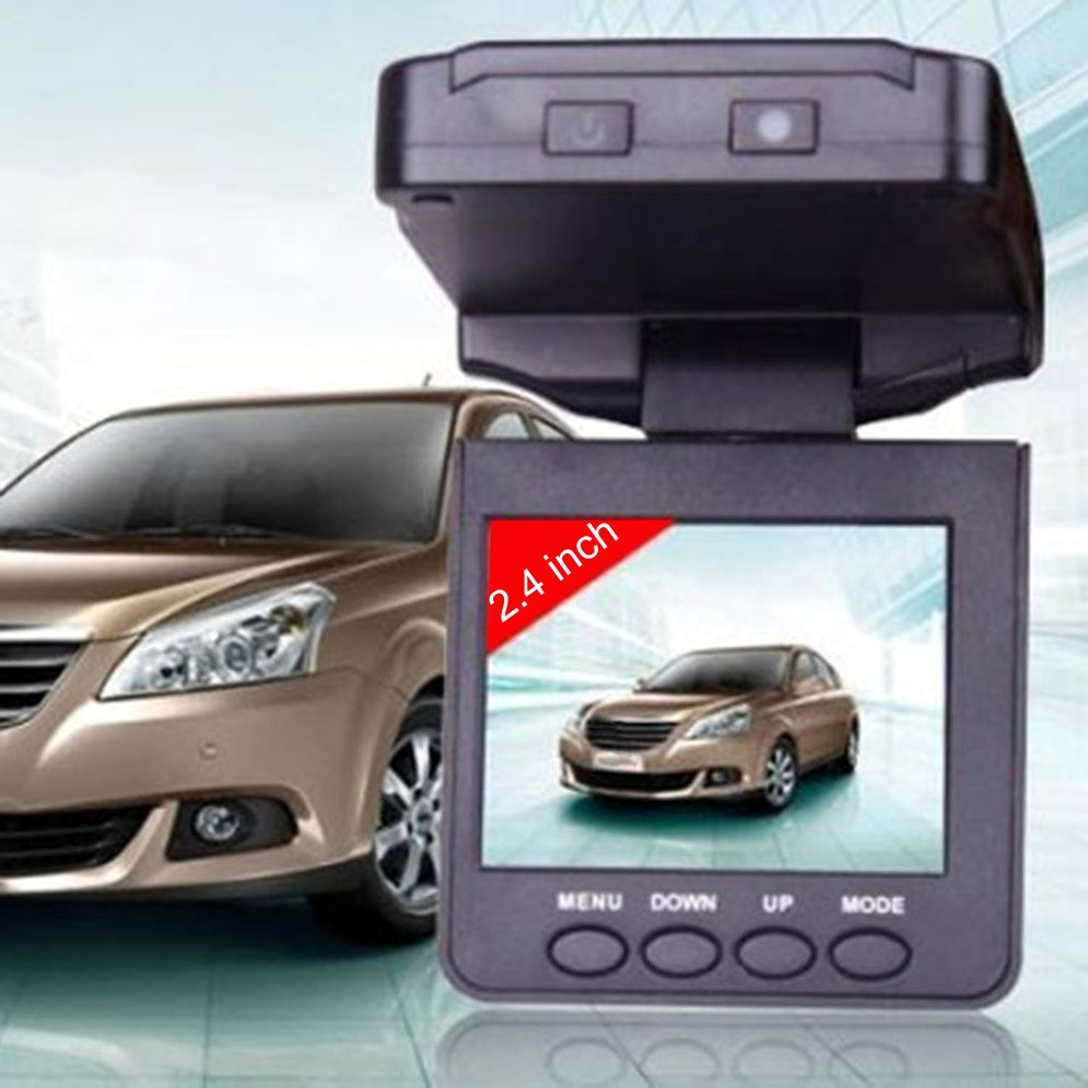 F198 2.5 Inch Display Microphone Built in Car HD Dash Cam Driving Video Recorder Camera with Night Vision Function