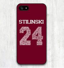 Teen Wolf STILINSKI 24 Words Plastic Hard Cover Case for iPhone SE 4 4s 5 5s 5c 6 6s 6 Plus Fundas  Cover