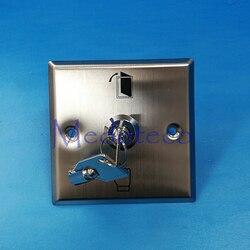 No/Nc/Com kontakt ze stali nierdzewnej przycisk wyjścia metalowy przełącznik z klucz awaryjny przycisk zwalniający drzwi