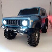 RC سيارة الصمام ضوء مجموعات ل 1/10 RedCat GEN8 الكشفية II الجسم 3 قناة التحكم عن بعد الباردة الأبيض رئيس/الضباب ضوء الإضاءة تحكم