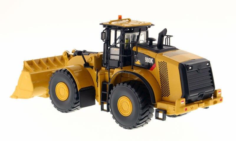 Детские игрушки 1/50 весы строительные машины 980 K колесный погрузчик рок конфигурация Высокая линия изготовление литьем модель автомобиля - 2