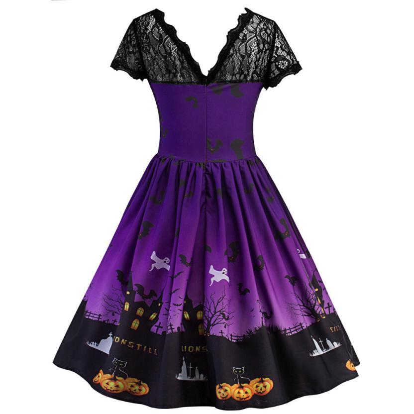 Pumpkin Swing Dress