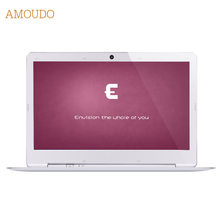 Amoudo-S3 14 inch 8GB Ram+120GB SSD+750GB HDD Intel Pentium Quad Core Windows 7/10 System Fashion New Laptop Notebook Computer