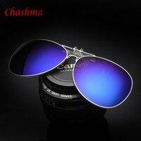 Multicolor Film Polarisierte männer Sonnenbrille Großen Rahmen Kann Eingeschaltet Sonnenbrille Clip Driving Glas Nachtsicht Clip 1062