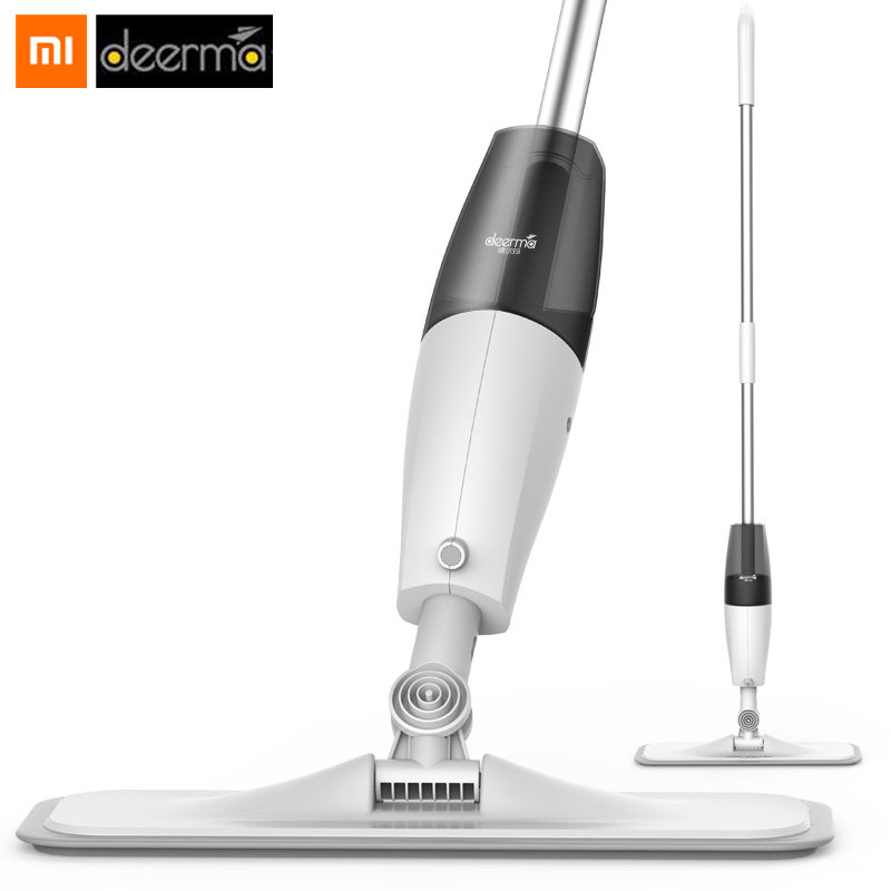 Original Xiaomi Deerma Water Spraying Sweeper Mijia Floor Cleaner Carbon Fiber Dust Mops 360 Rotating Rod 350ml Tank Waxing Mop -in Smart Remote Control from Consumer Electronics on Aliexpresscom  Alibaba Group