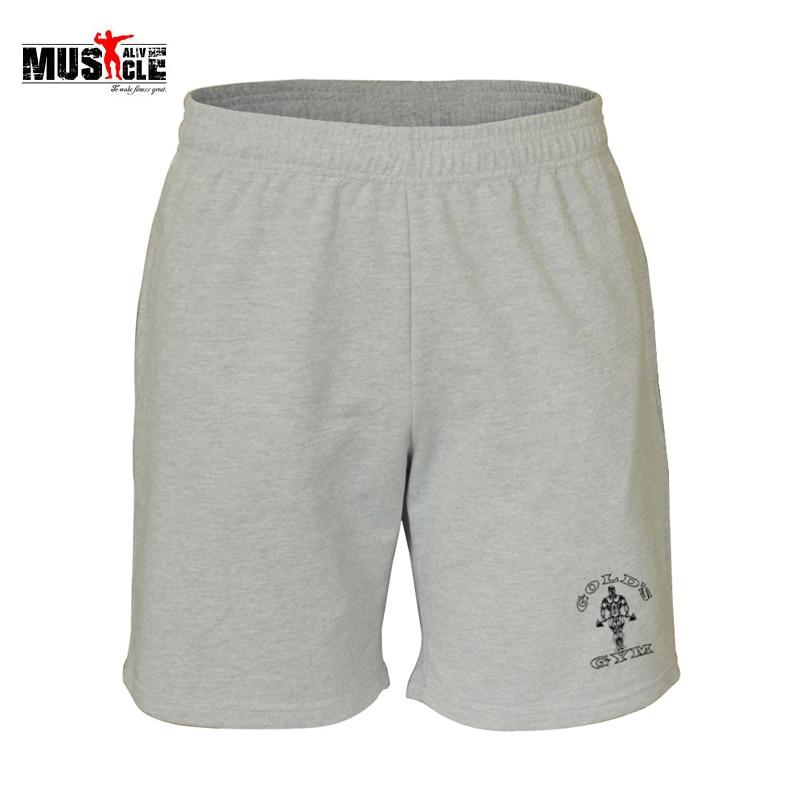 Mens Shorts Gym Kläder Bodybuilding Gymwear Fitness Shorts Workout - Herrkläder