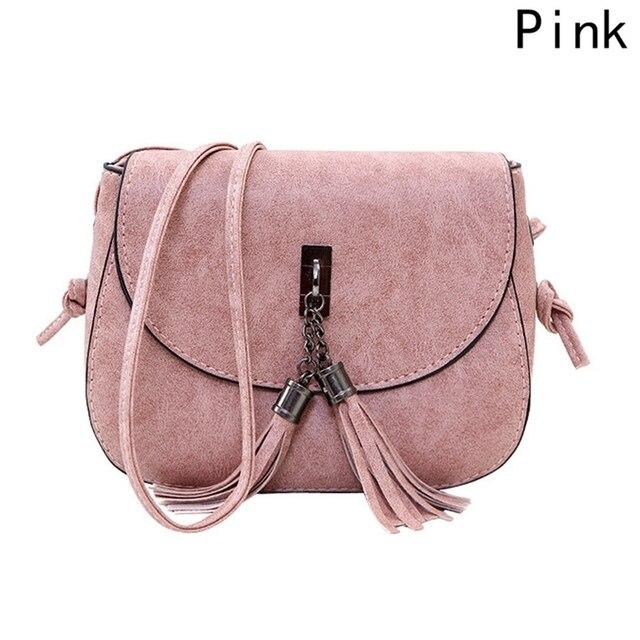 2018 New Arrival Women Tassel Messenger Bags Vintage Designer Handbags High Quality Shoulder Bag Crossbody