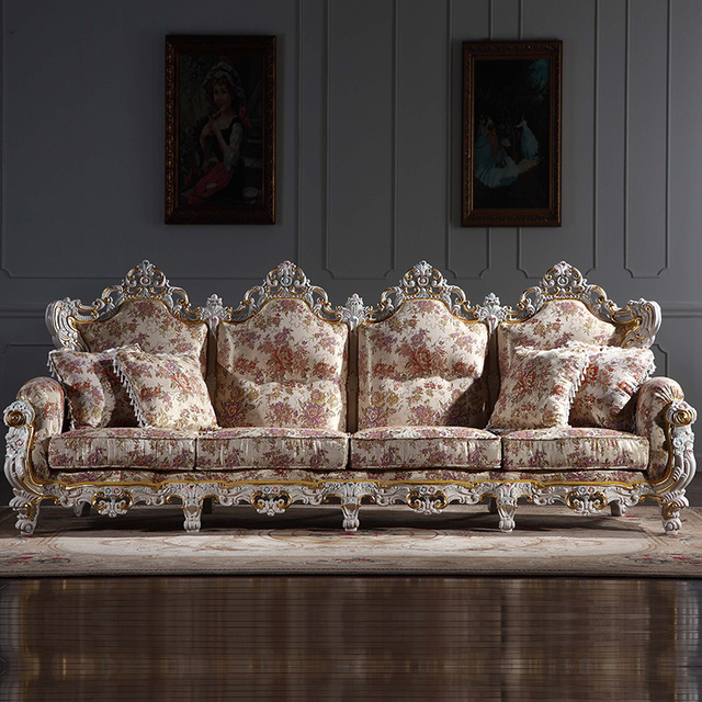 Italian style living room furniture living room sofa sets-in Living ...
