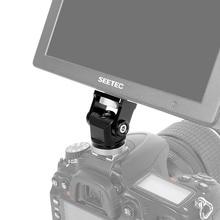 شاشة كاميرا شاشة ترايبود الحذاء الساخن 360 درجة حامل صغير محول تركيب ل مصباح ليد DSLR تلاعب الهاتف الذكي Gopro ميكروفون
