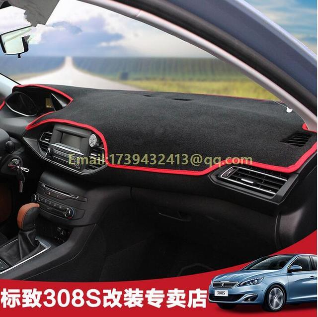 dashmats car styling accessories dashboard cover for peugeot 308 ...