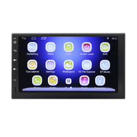 Quad 4 Core 7 INCH 2 Din Android 4 4 Car DVD Player Radio 1080P HD