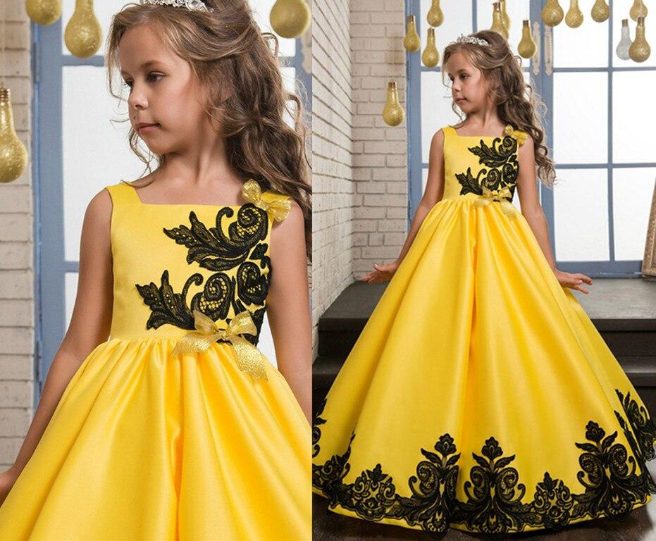 Здесь продается  2017 New For Girls Pageant Birthday Dresses Ball Gown Flower Girl Dresses Custom Make Vestidos Longo  Детские товары