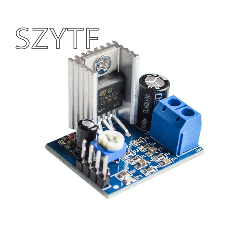 TDA2030 Module Power Supply TDA2030 Amplifier Board Module TDA2030A 6 12V Single-in Integrated Circuits from Electronic Components & Supplies on AliExpress