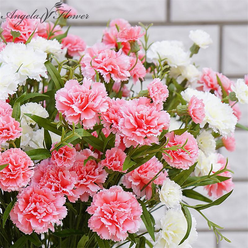 soie carnation fleurs-achetez des lots à petit prix soie carnation