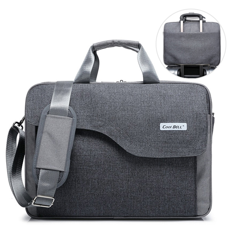 Men Briefcases Business Laptop Suitcase Zipper Crossbody Bags Notebook Handbags Nylon Male Messenger Shoulder Bag 2019 XA199ZC