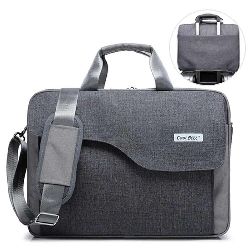 Men Briefcases Business Laptop Suitcase Zipper Crossbody Bags Notebook Handbags Nylon Male Messenger Shoulder Bag 2020 XA199ZC