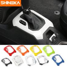 Shineka автомобильный Стайлинг abs панель для рычага переключения
