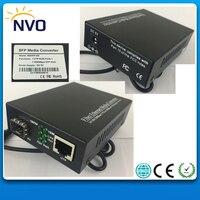 1000M 1 RJ45+1 Gigabit SFP Port,Ethernet SFP Fiber Optic Switch,Eu Charger External power supply+1.25G 850NM 550M,DDM,LC SFP