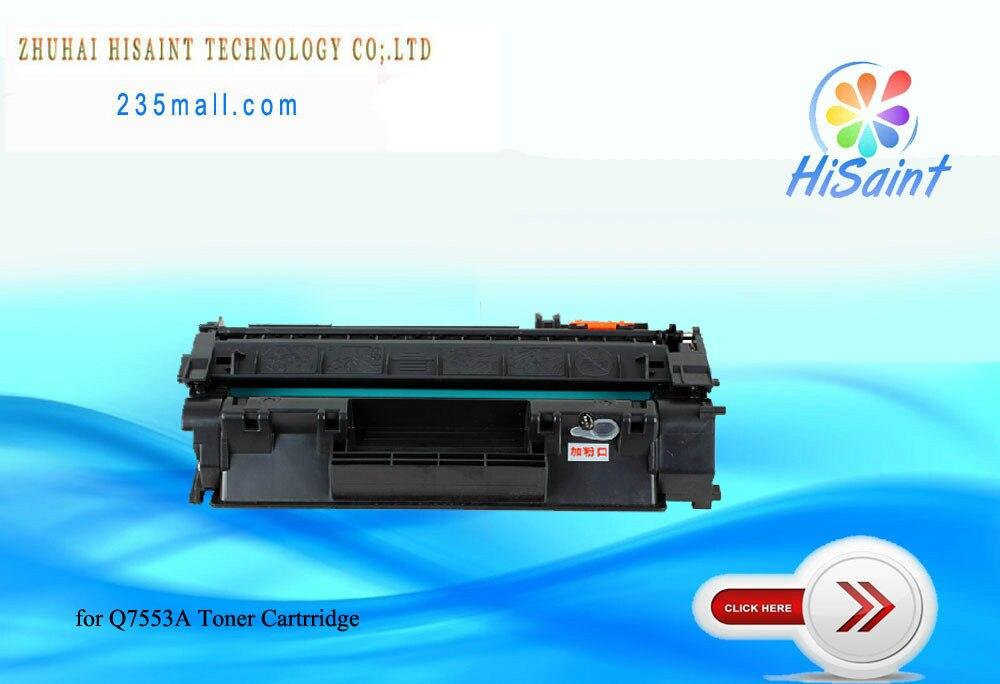 ФОТО free shipping for hp  Q7553A toner cartridge for HP LaserJet P2014/P2015/P2015d/P2015dn/P2015n/P2015x/M2727nf  Laser printer