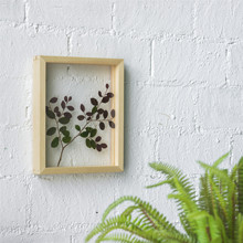 Retro Wood Glass Picture Frame Display Poster Plants Specimen Clip Home Office Wall Table Decoration Wood Photo Frames Rectangle a4 size wood photo frame wood card backplane stand table display photo quadro decoration tv wall frame best gift 2019