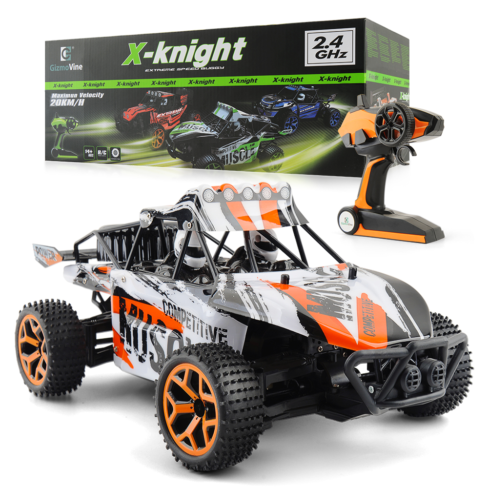 1/18 RC Car 4WD 2.4G Double Motors Drive Buggy Model Off Road Car Remote Control Car For Children