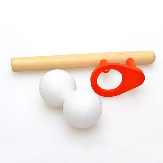 Blow ball game classic children's early childhood fun puzzle wooden kids sports toys for children hobbies free shipping