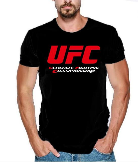 2e92d5c12f83 MMA mannen T-shirts Ultimate Fighting Championship Ufc men t Shirt 2018  cotton t Shirt Euro Size S-2xl Tops Casuals t-Shirt men