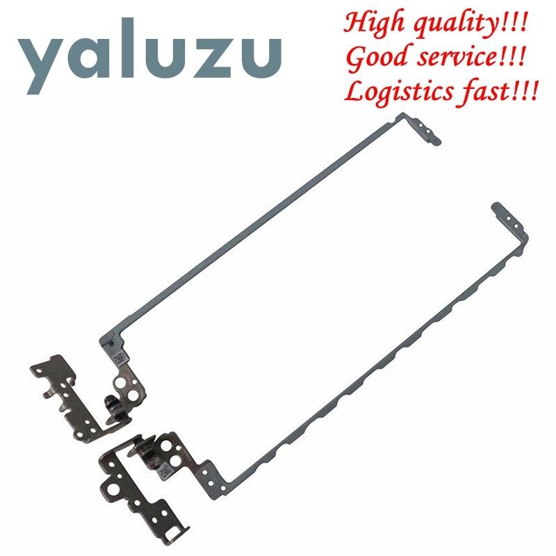 YALUZU Novo PARA HP 15-BS 15T-BS 15-BW 15Z-BW 250 G6 255 G6 15-bs009ds 15-BS020WM Direita & Esquerda Dobradiça Lcd Set 925297-001 AM2040005