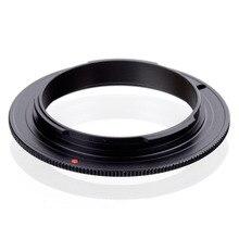 Черный Алюминий тонкий УФ-фильтр 49 мм 52 мм 55 мм 58 мм 62 мм Macro обратное кольцо адаптера для sony E NEX NEX-3 NEX-5 NEX-7 NEX-5N NEX-VG10 байонетное крепление типа Е