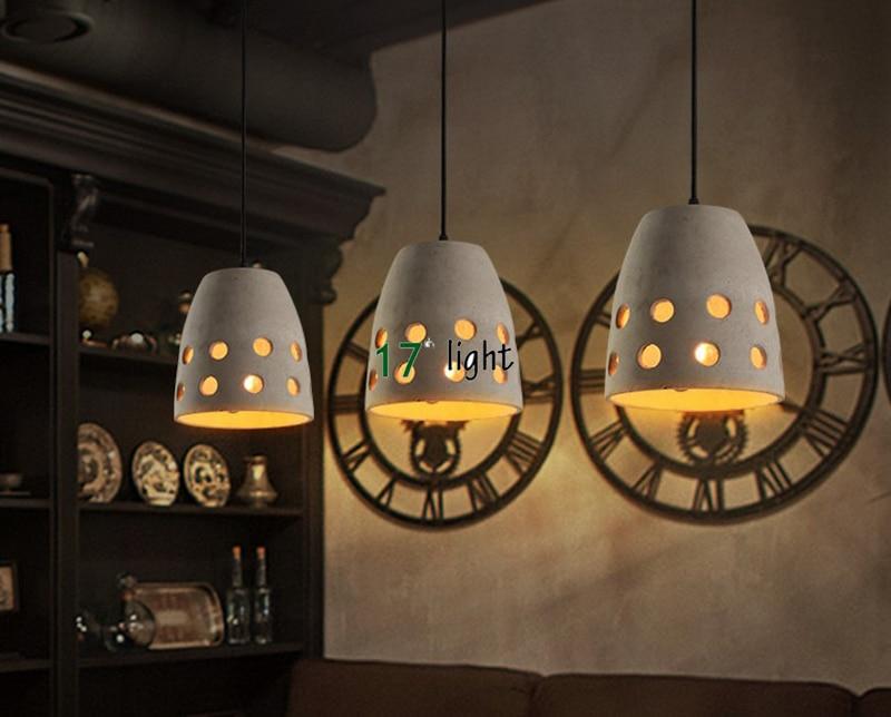 Lampade a sospensione apparecchio industriale edison lampade cemento